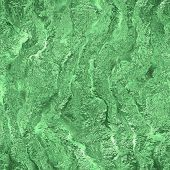 image of frozen  - Green ice frozen seamless and tileable texture - JPG