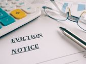 picture of eviction  - eviction notice - JPG