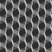 image of intersection  - Seamless stylish geometric background - JPG
