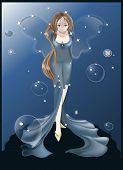 Постер, плакат: Blue Fairy