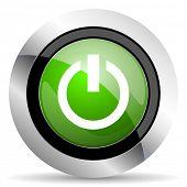 stock photo of proceed  - power icon - JPG