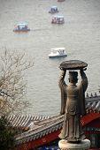 image of qin dynasty  - statue of Qin dynasty in Beihai park of Beijing - JPG