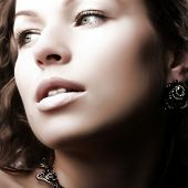 picture of beautiful woman face  - Beautiful woman - JPG