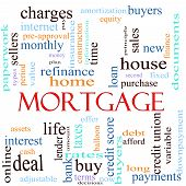 Mortgage Word Concept Illustration