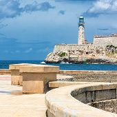 stock photo of el morro castle  - The castle of El Morro - JPG