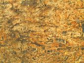 picture of fieldstone-wall  - close up of old stone wall support train tracks - JPG