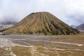 pic of bator  - Volcano Bator near Bromo Java in Indonesia - JPG