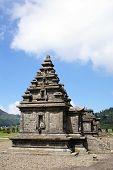 pic of arjuna  - Temples in Arjuna complex plateau Dieng Java - JPG