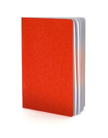 stock photo of passport template  - Red passport isolated on a white background - JPG