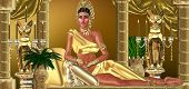 stock photo of cleopatra  - For a moment within a dream - JPG