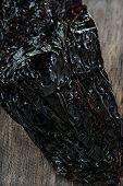 stock photo of poblano  - Dried poblano  - JPG
