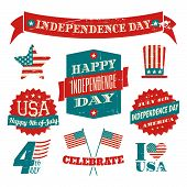 Independence Day Design Elements Collection