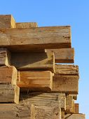 Heavy Wooden Timbers