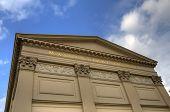 stock photo of maxim  - Exterior of the Maxim Gorki Theatre in Berlin - JPG
