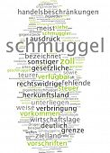 stock photo of smuggling  - Word cloud  - JPG