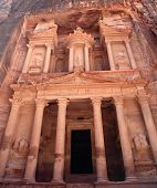 The Treasury Building at Petra