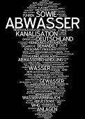 picture of wastewater  - Word cloud  - JPG