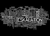 Word cloud - escalation