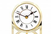 pic of roman numerals  - Clock with roman numerals  - JPG