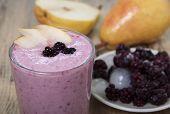stock photo of blackberries  - Fruit  - JPG