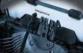 foto of typewriter  - Close - JPG