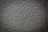 stock photo of titanium  - Photo of a grunge metallic paint textured background wall - JPG