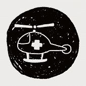 pic of rescue helicopter  - Doodle Helicopters - JPG