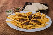 picture of veal meat  - East cuisine - JPG