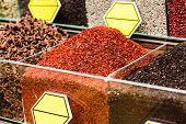 foto of spice  - Spice Bazaar in Istanbul - JPG