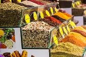 picture of spice  - Spice Bazaar in Istanbul - JPG