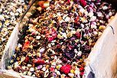 stock photo of spice  - Spice Bazaar in Istanbul - JPG