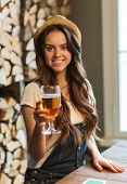 stock photo of alcoholic drinks  - people - JPG