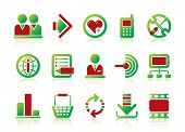 stock photo of internet icon  - Vector website and internet icons Easy to edit - JPG