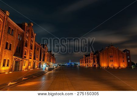 Yokohama Red Brick Warehouse At