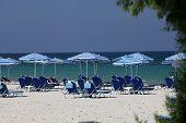 Mastichari beach on Kos Island poster