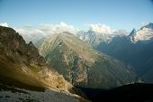 foto of firn  - The mountains in the spring and summer General condition of spring and summer in the mountains