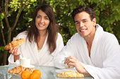 pic of concubine  - Couple having breakfast together - JPG