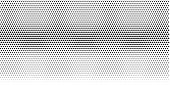 Vector Halftone Texture. Vector Illustration . Minimal Geometric Background.  Abstract Halftone Text poster