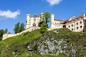 Hohenschwangau Castle On The Hill