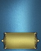 image of jade blue  - Template for writing - JPG