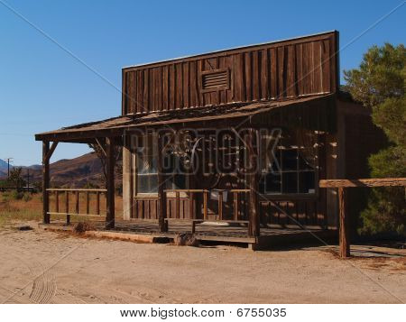 Picture Or Photo Of Old West Town In The Mojave Desert
