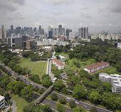 picture of cbd  - Singapore Central Business District CBD City Skyline Aerial View - JPG