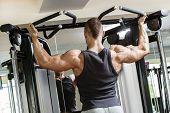 image of chest hair  - Fitness - JPG