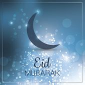 foto of eid card  - Eid Mubarak  - JPG