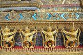 image of garuda  - Garuda in Wat Phra Kaew Grand Palace of Thailand to find - JPG