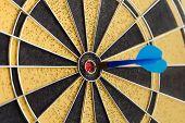 pic of achievement  - Success hitting target aim goal achievement - JPG