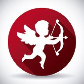 foto of cupid  - angel cupid design - JPG