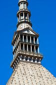 foto of turin  - Detail of the Mole Antonelliana  - JPG