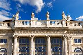 picture of turin  - Detail of Palazzo Madama  - JPG