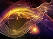 image of sine wave  - Virtual Wave series - JPG